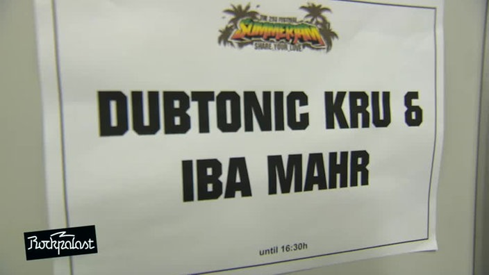 Interview @ Summerjam 2014: Dubtonic Kru & Iba Mahr
