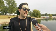 Interview @ Summerjam 2014: Left Boy