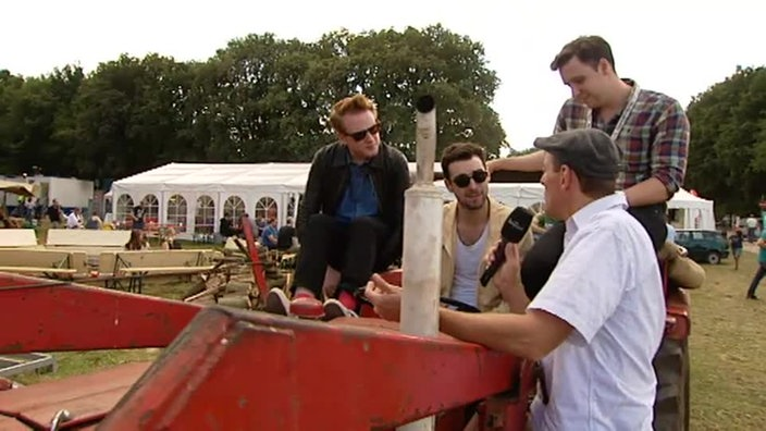 Rockpalast: Two Door Cinema Club Interview