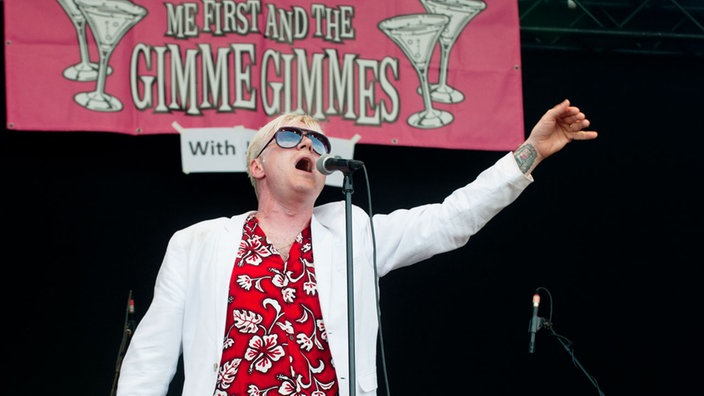 Area4 Festival 2012: Me First & The Gimme Gimmes