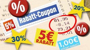Rabatt-Coupons