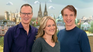Thomas Bug, Lisa Feller und Ingolf Lück.
