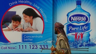 """Pure Life"" Billboard in Pakistan"