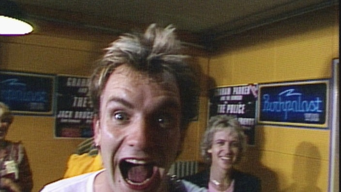 Sting, The Police im Rockpalast 1980