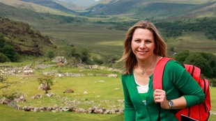 Moderatorin Andrea Grießmann entdeckt die Schönheit der irischen Landschaft