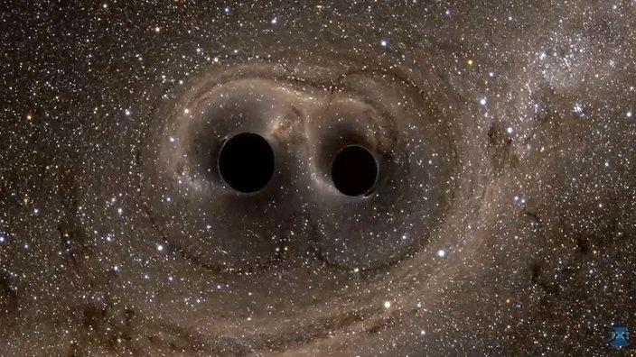 wenn zwei schwarze l cher verschmelzen quarks fernsehen wdr. Black Bedroom Furniture Sets. Home Design Ideas