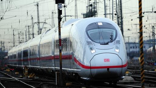 Ein neuer ICE 3 der Baureihe 407