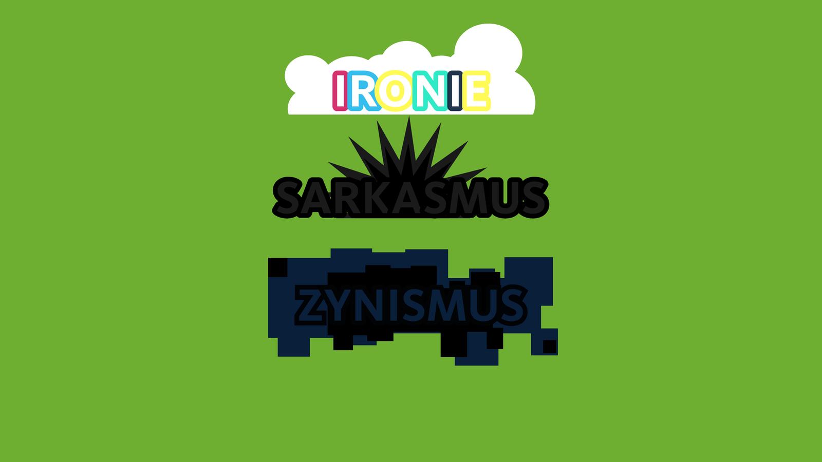 Ironie, Sarkasmus & Zynismus - WDR 5 Tiemanns Wortgeflecht