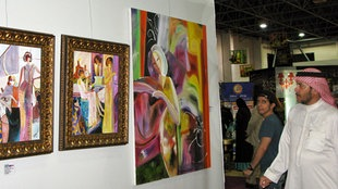 Kunstmesse in Dschidda