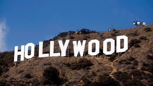 Hollywood-Schriftzug in Los Angeles, USA