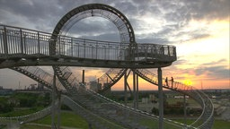 "Die Großskulptur ""Tiger & Turtle ¿ Magic Mountain"", Duisburg"