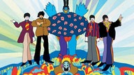"Ausschnitt aus Beatles-Film ""Yellow Submarine"""