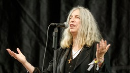 Patti Smith live in Glastonbury 2015
