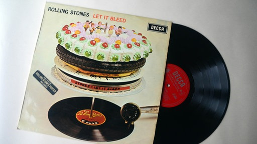 "Rolling Stones-Abum ""Let It Bleed"""