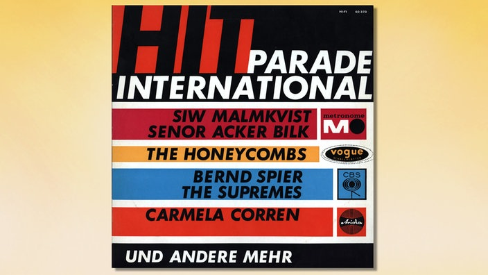 Hitparade International Cover vorn