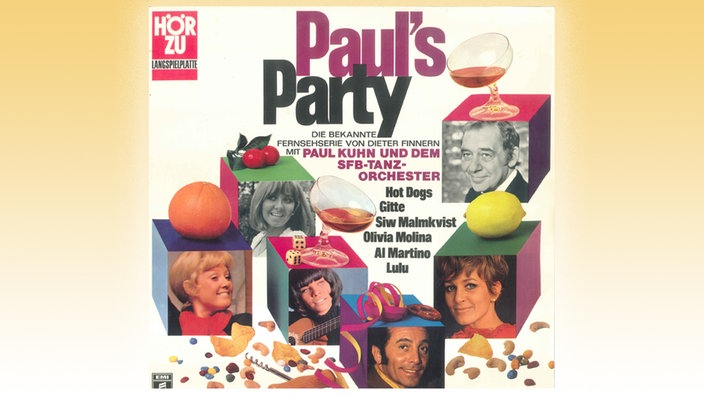 "Plattencover von ""Paul's Party"""
