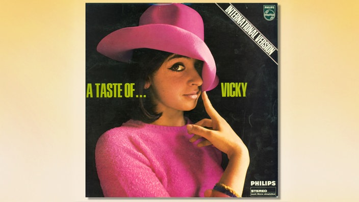 "LP-Cover ""A Taste of ... Vicky"" 1967 vorn"