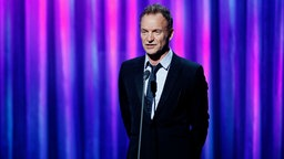 Sting bei Rede 2016