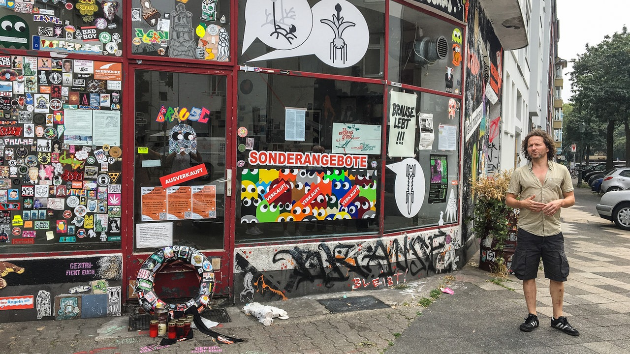 Impressionen vom Urban Art Walk in Düsseldorf