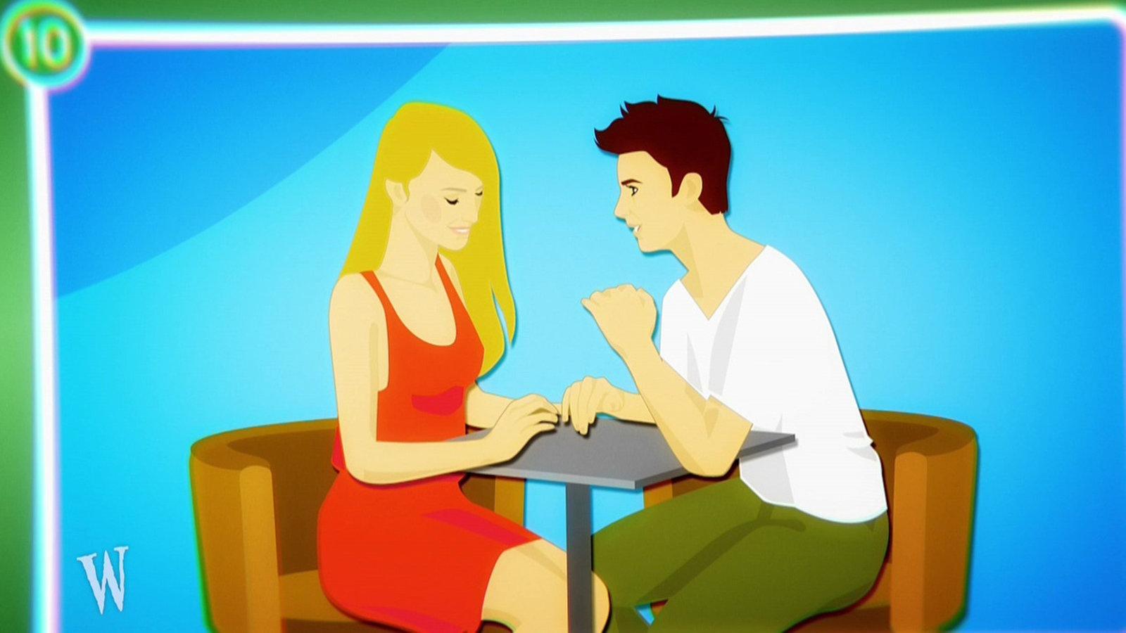 video anleitung tipps f r das erste date du bist kein werwolf kinder. Black Bedroom Furniture Sets. Home Design Ideas