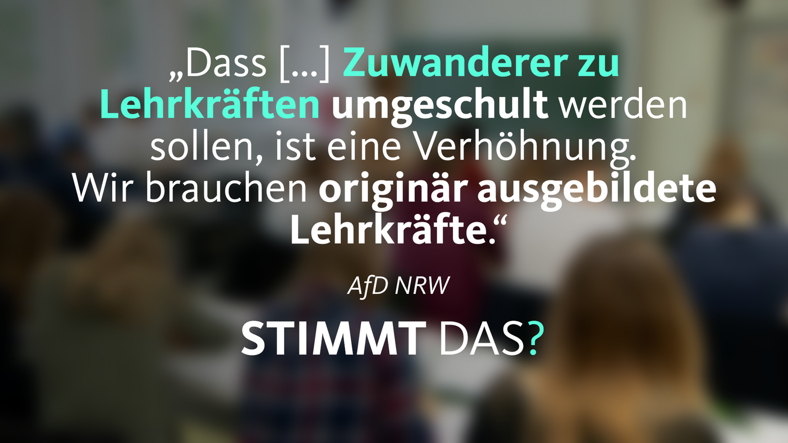 Wahlwatch Wdr