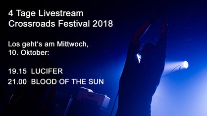 Livestream Crossroads 2017: Black Mirrors / Spidergawd