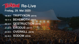 Livestream Rock Hard Festivals 2011-2018  (Freitag)