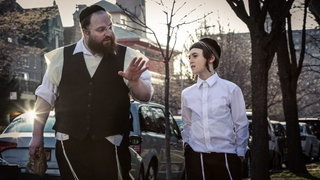 "Set des Films ""Menashe"", 2017."