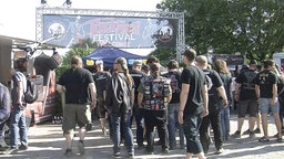 Festivalbeginn Rock Hard 2016