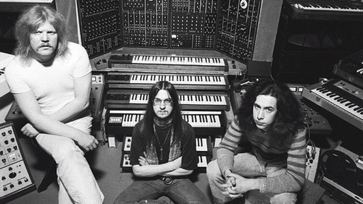 Tangerine Dream (1975): Edgar Froese, Christopher Franke, Michael Hoenig