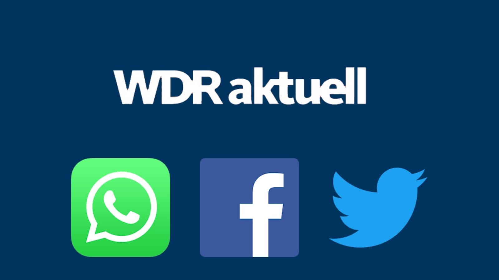 video wdr aktuell auf whatsapp facebook und twitter mediathek wdr. Black Bedroom Furniture Sets. Home Design Ideas