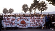 Anti-Atomkraft-Demonstranten