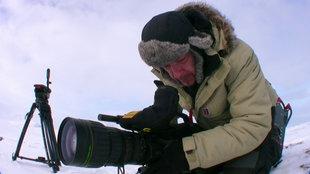 Naturfilmer Jan Heft in der Arktis