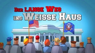Der lange Weg ins Weiße Haus - Animation