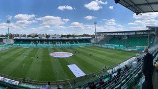Das Stadion am Ronhof der SpVgg Greuther Fürth