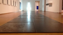 Carl Andre: Lock Series - Teilansicht
