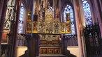 """West ART Meisterwerke: """"Annenaltar"""" von Adrian van Overbeck, Propsteikirche in Kempen"""