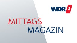 Das Logo der Sendung MITTAGS MAGAZIN der Hörfunkwelle WDR2