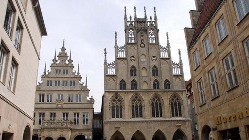 Das Rathaus von Münster