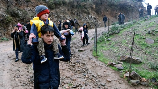 Flüchtlinge Griechenland Heute