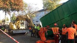 Baumfällung ist blockiert