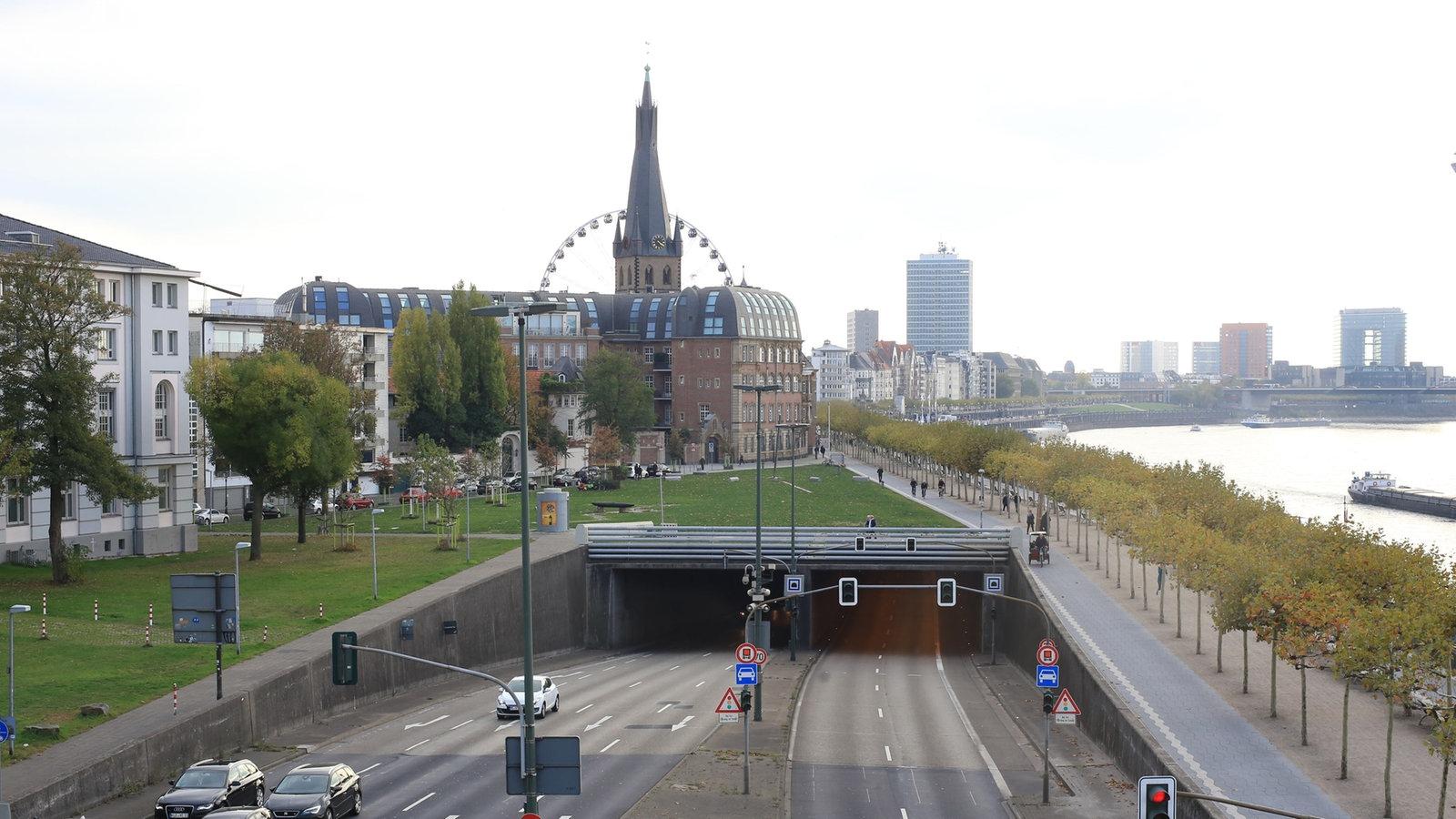Rheinufertunnel Sperrung