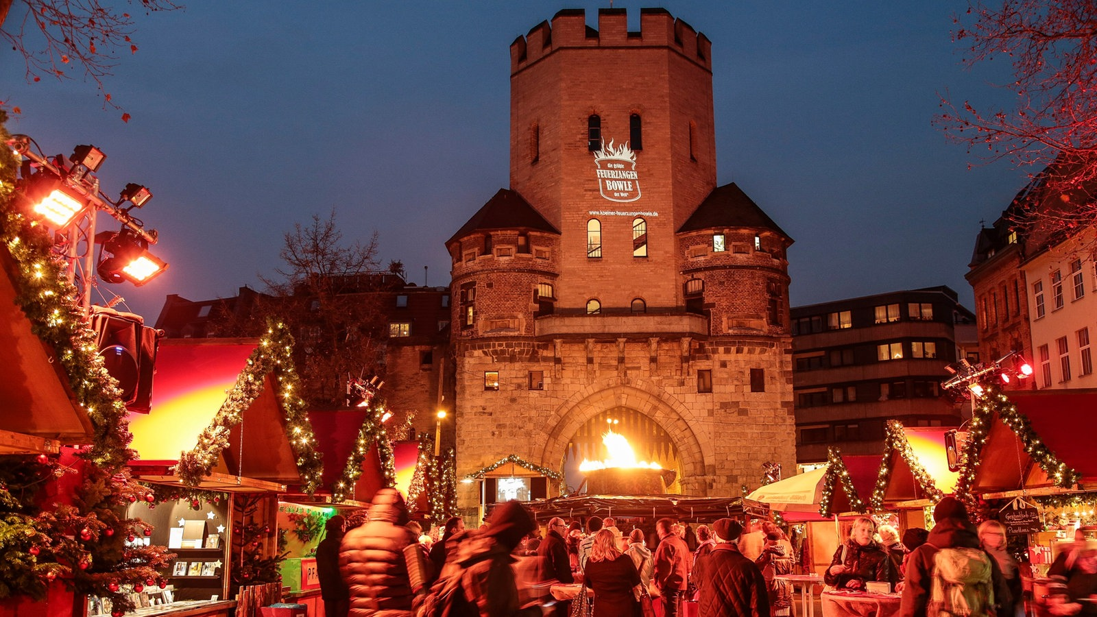 Weihnachtsmarkt Chlodwigplatz