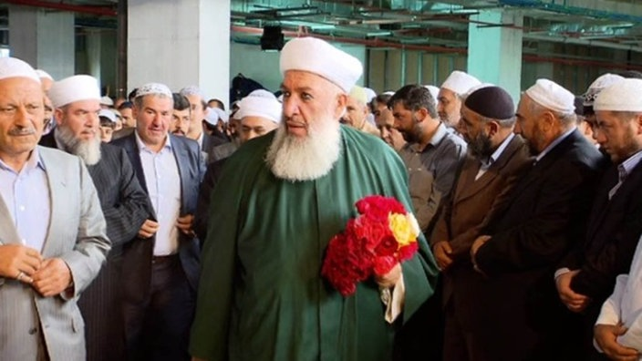 Gavs-ı Sani Seyyid Abdulbaki, Anführer des islamischen Menzil-Ordens