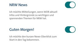 WDR App, Screenshot,