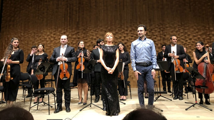 Syrian Expat Philharmonic Orchestra in der Elbphilharmonie
