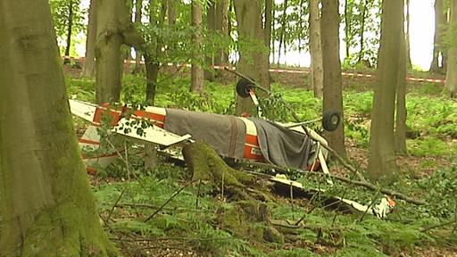Flugzeugabsturz Blomberg