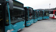 Investition in schadstoffarme Busse