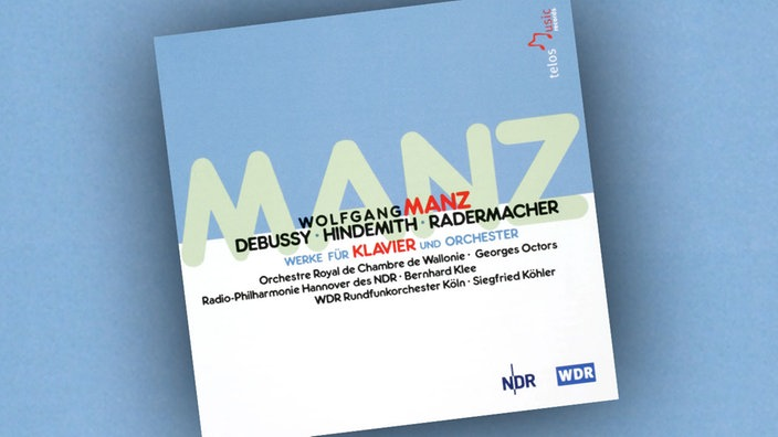 Wolfgang Manz - Debussy, Hindemith, Radermacher