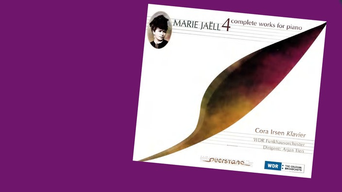 CD Cover Marie Jaëll: complete works for piano